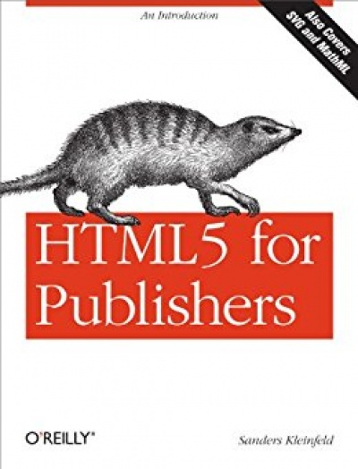 HTML5 for Publishers (Free Kindle Edition)
